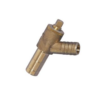 Hep2O Push-Fit Brass Drain Cock (Dia)15 mm