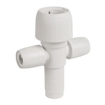 Hep2O Push Fit Manifold Socket/Blank Spigot (Dia)22 mm