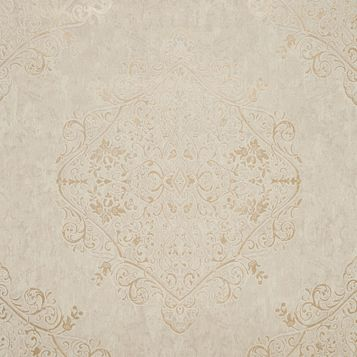 Marrakesh Moroccan Damask Glitter Wallpaper
