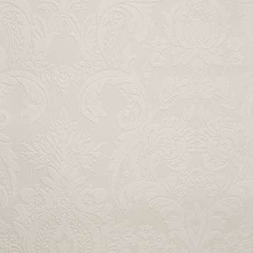 Hermes Damask Paintable Wallpaper