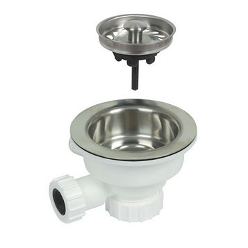 Opella Strainer Waste with Overflow