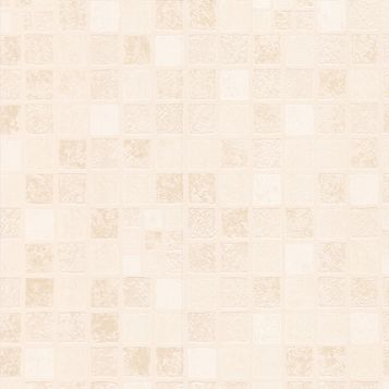 Earthern Tile Beige Wallpaper
