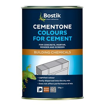 Cementone Cement Colouring, Black 1kg