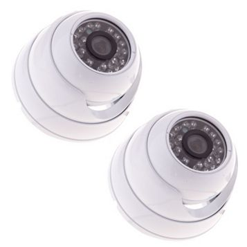 Yale HDC-304G CCTV Dome Camera Twin Pack