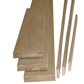 Oak Veneer Internal Door Lining Set, (H)2m (W)138mm