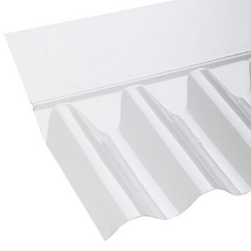 Ariel Corolux Corrugated PVC Roofing Sheet Flashing, Translucent 3