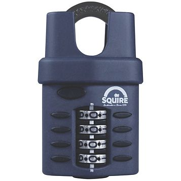 Squire CP30C/S Combination Padlock (W)40mm