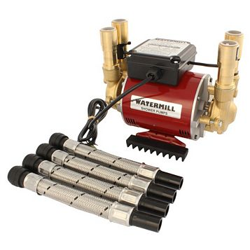 Watermill Twin Impeller Regenerative Shower Pump