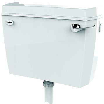 Dudley ACCLAIM White Cistern (H)343mm (L)460mm (D)155mm