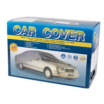 Hilka Pro-Craft Silver Protective Vehicle Cover
