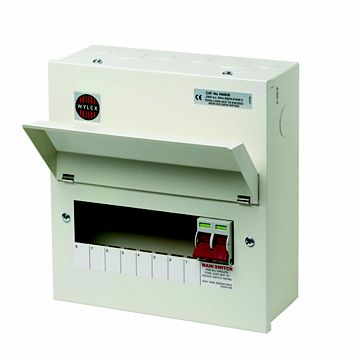 Wylex 100A 8-Way Consumer Unit