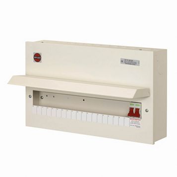 Wylex 100A 19-Way Main Switch Consumer Unit