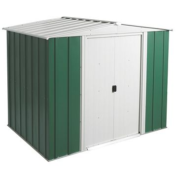Greenvale 8X6 Apex Metal Shed - Assembly Required