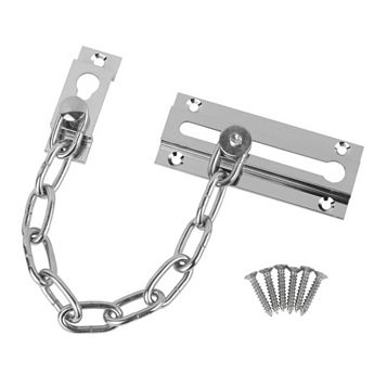 Smith & Locke Chrome Effect Door Chain
