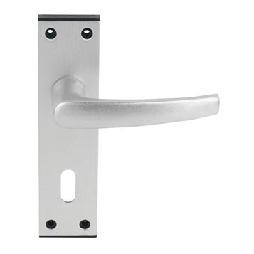 Smith & Locke Satin Lock Door Handle