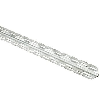 Galvanised Steel Angle Bead (L)2.4 M (W)22mm