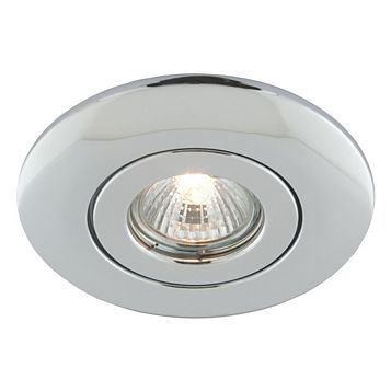 Polished Chrome Low Voltage Ceiling Downlight Converter 50 W