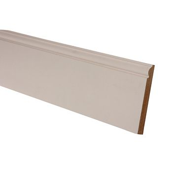 Primed Torus Skirting (L)2400mm (W)167mm (T)18mm