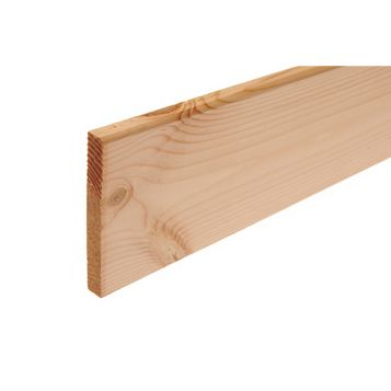 Metsäwood Untreated R1A Skirting (L)3000mm (W)94mm (T)12mm