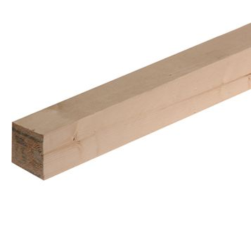 Softwood Rough Sawn Timber (T)47mm (W)50mm (L)1800mmpack Quantity 6