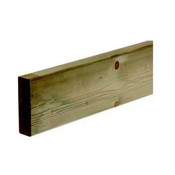Softwood Deck Joist (W)144mm (L)2400mm (T)44mm