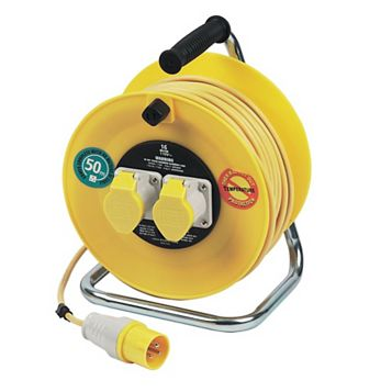 Masterplug 50m Cable Reel