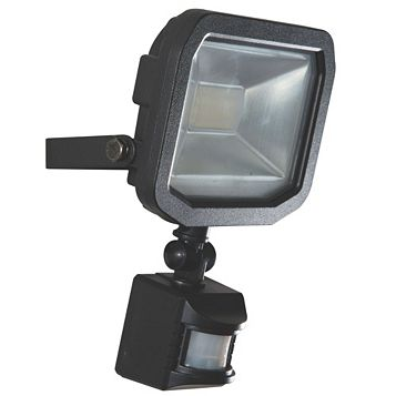 Luceco Guardian Slim 10W Floodlight with PIR