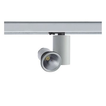 Luceco White LED Track Spotlight, 16.1W