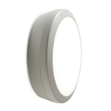 Luceco White 3 Hour Maintained Emergency LED Bulkhead