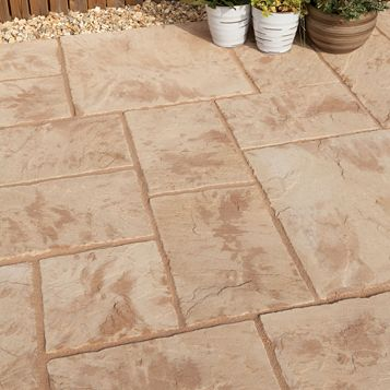 Abbey Original Ancestry Paving Slabs (L)450mm (W)450mm