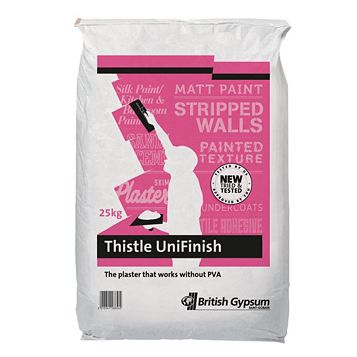 Thistle Unifinish Finishing Plaster 25kg