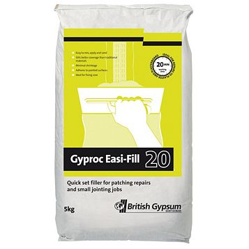 Gyproc Easi-Fill 20 Jointing & Filling Material 5kg