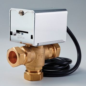 Flomasta 3 Port Motorised Central Heating Valve