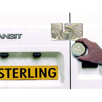 Sterling Hardened Steel Replacement Van Lock Padlock