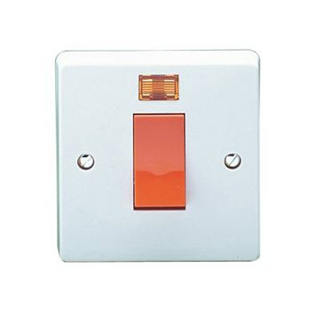 Crabtree 1-Gang 45A Cooker Switch
