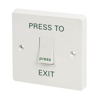 Crabtree 1-Gang 2-Way 10A White Retractive Switch