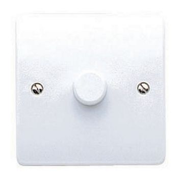 MK 2-Way Single White Dimmer Switch