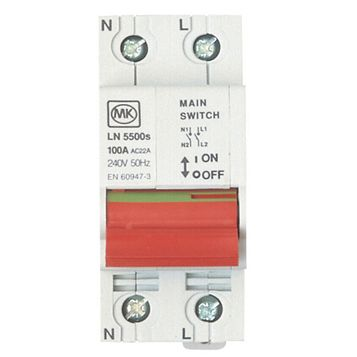 MK 100A Incomer Main Switch Isolator