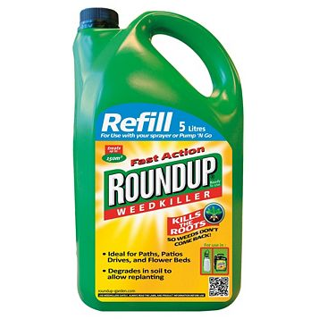 Roundup Fast Action Refill Weed Killer 5L
