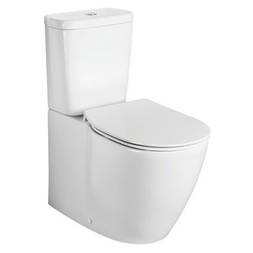 Ideal Standard Imagine Aquablade Back to Wall Close-Coupled Toilet with Soft Close Seat