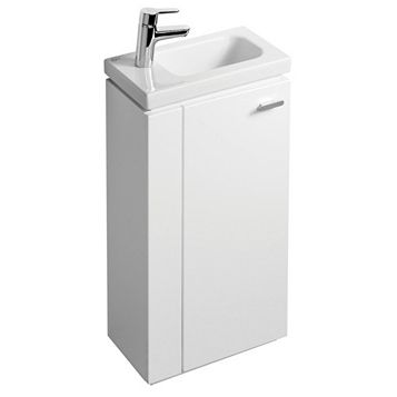 Ideal Standard Imagine Compact White Vanity Unit, LH Basin & Mixer Pack