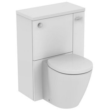 Ideal Standard Imagine Compact RH Back to Wall Toilet Unit & WC Set with Soft Close Seat