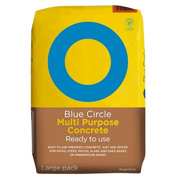 Blue Circle Multi Purpose Ready to Use Concrete 20000G Bag