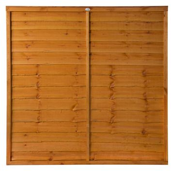 Grange Traditional Overlap Fence Panel (W)1.83 M (H)1.8 M