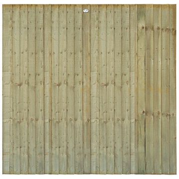 Professional Feather Edge Fence Panel (W)1.83m (H)1.8m