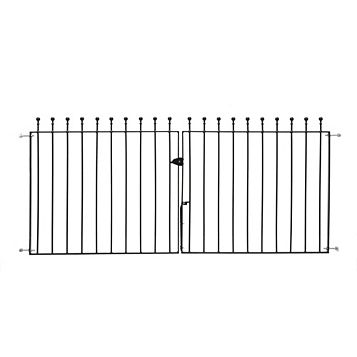 Metpost Metal Ball Top Gate (H)900mm (W)1275mm