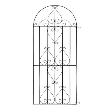 Metpost Metal Scroll Top Gate (H)1800mm (W)770mm