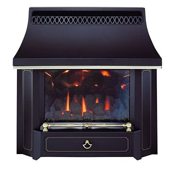 Valor Black Black Beauty Gas Fire