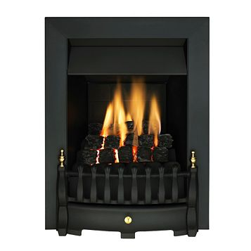 Valor Blenheim Black Inset Gas Fire