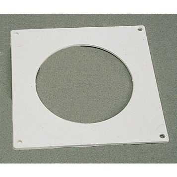Manrose White Wall Plate (H)150mm (W)150mm